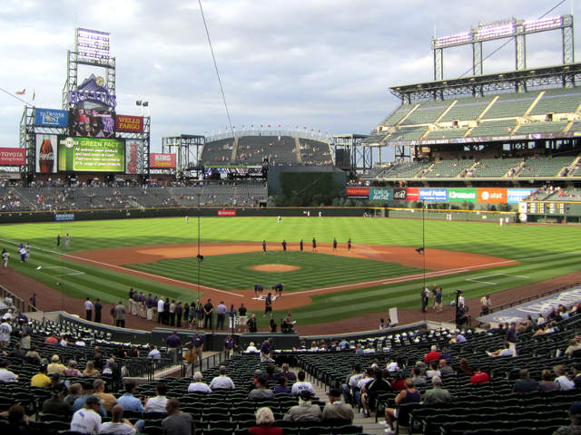 Coors Field View of Field