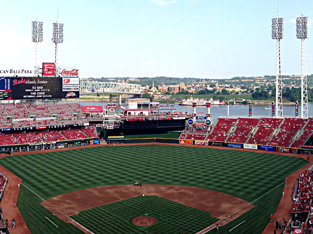 Great American Ball Park View of Field