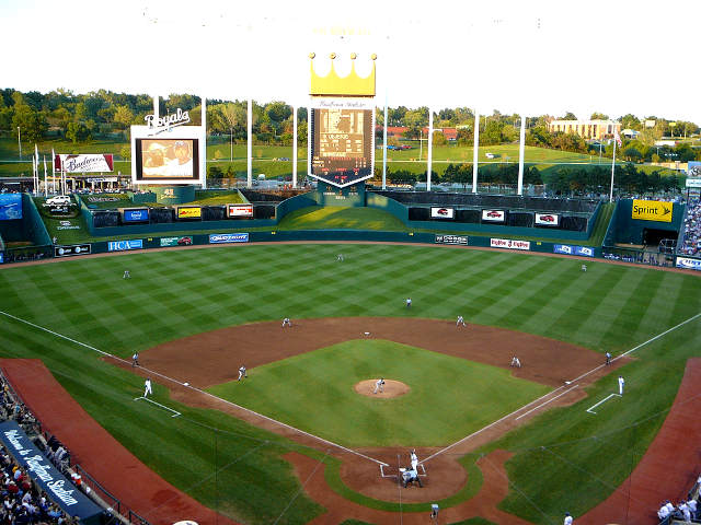 Kauffman Stadium View of Field