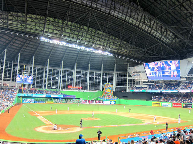 Marlins Park View of Field