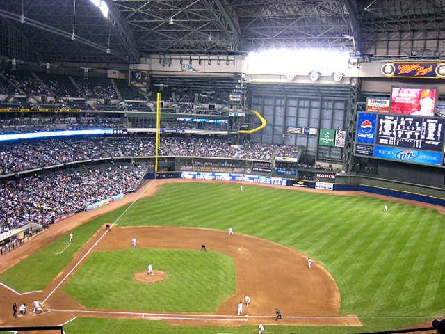 Miller Park View of Field