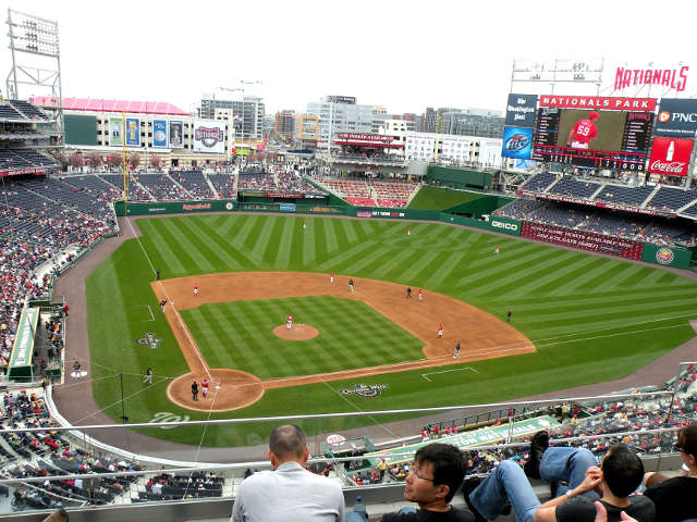 Nationals Park View of Field