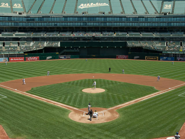 Oakland Coliseum View of Field