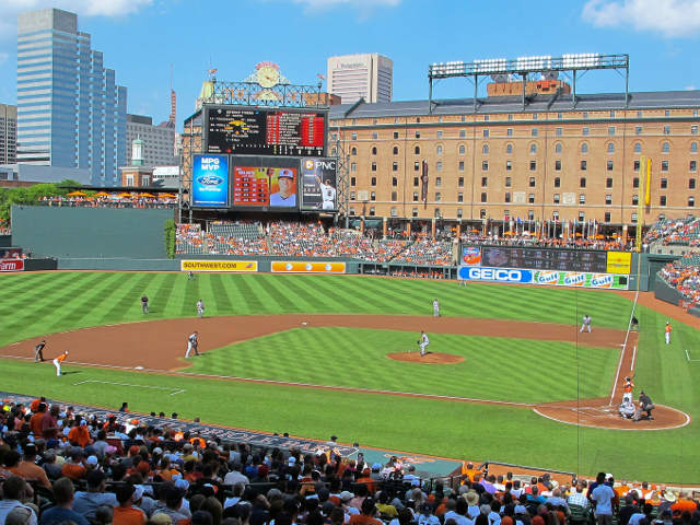 Oriole Park at Camden Yards View of Field