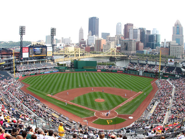 PNC Park View of Field