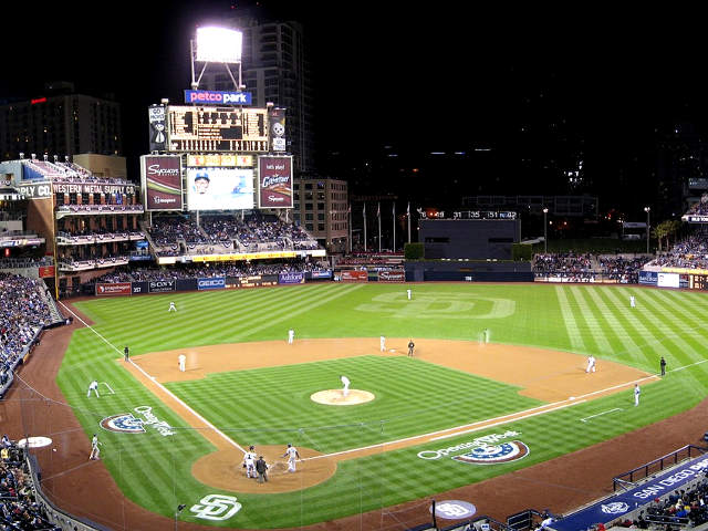 Petco Park View of Field