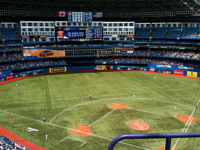 Rogers Centre View of Field