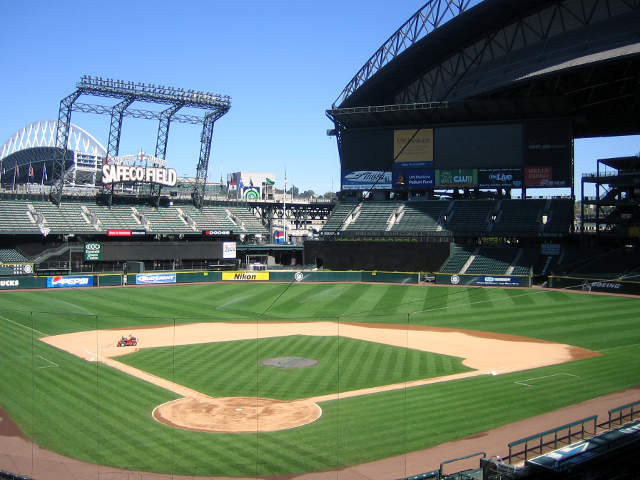 Safeco Field View of Field