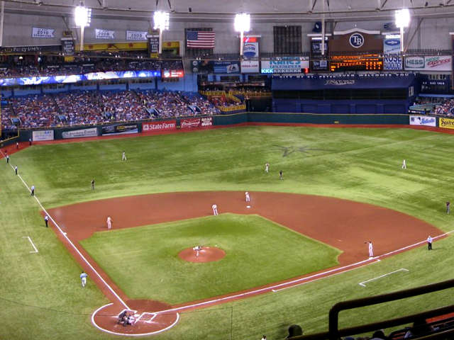 Tropicana Field View of Field