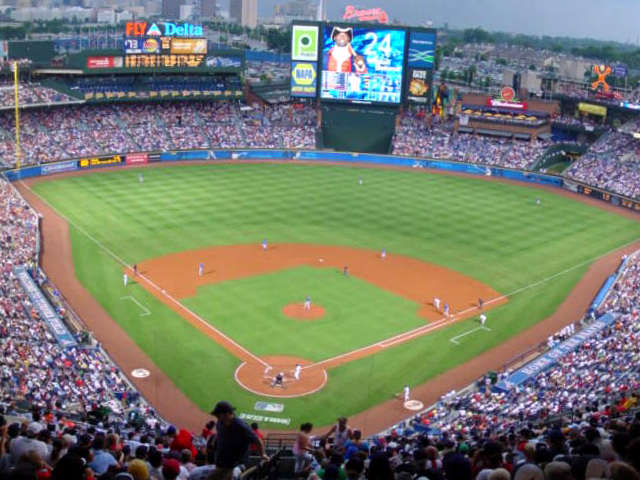 Turner Field View of Field