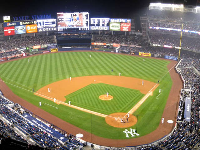 Yankee Stadium View of Field